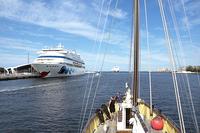 Kreuzfahrtschiffe auf der Ostsee