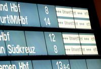 Sturm an diesem Wochende: Bahnkunden können stornieren oder Fahrt verschieben